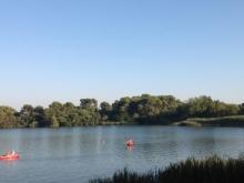Escursione in canoa dei laghi alimini